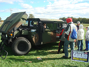 National Guard Humvee