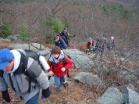 Climbing Hancock Hill