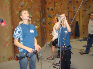 Belaying with backup