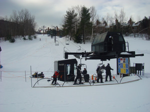 Daytime skiing