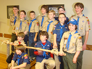New Scouts from Pack 126