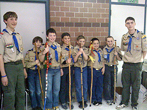 New Scouts from Pack 92