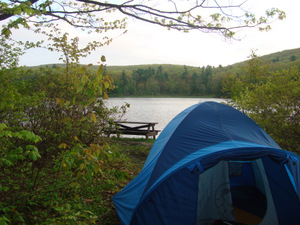 Camping at Beartown