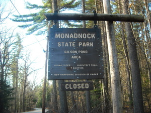Mount Monadnock Sign