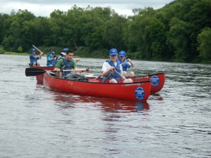 Troop Canoe Trip